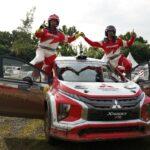Dikendarai Rifat Sungkar, Xpander AP4 Juarai Fortuna Nusantara Tropical Sport Rally 2021